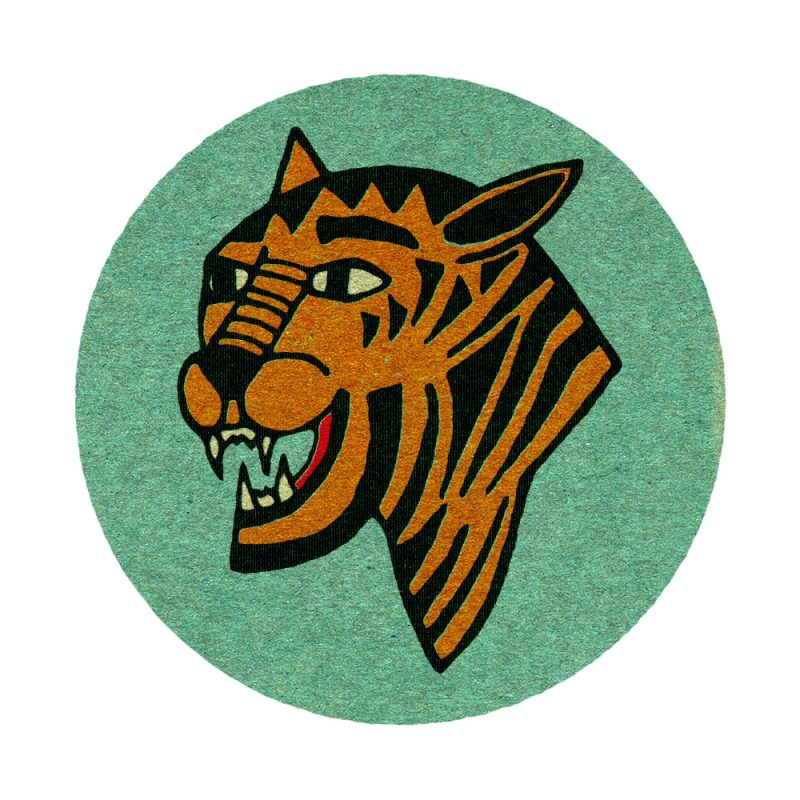 Eye of the Tiger - Vintage Matchbook design.