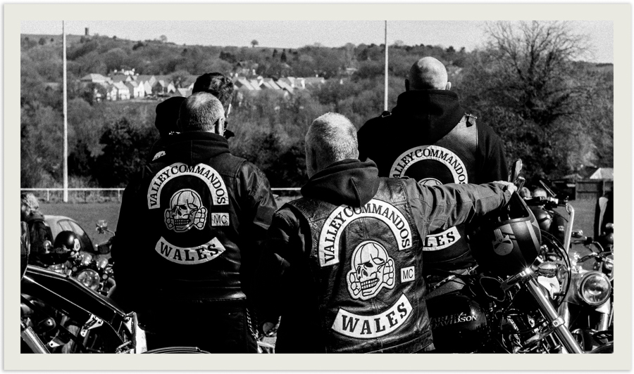 Valley Commandos Motorcycle Club. Wales largest 1% Bike Club.
