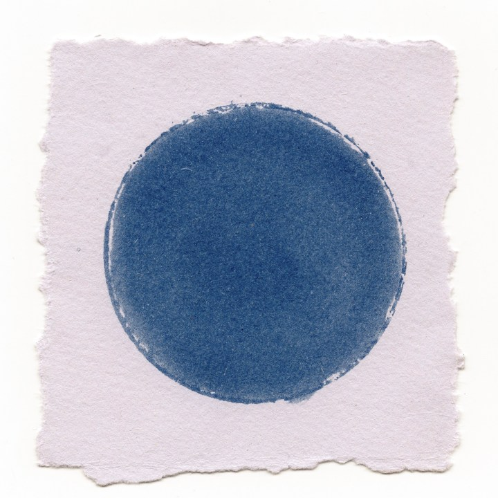 circle series. cyanotype. Craig Richards.2019
