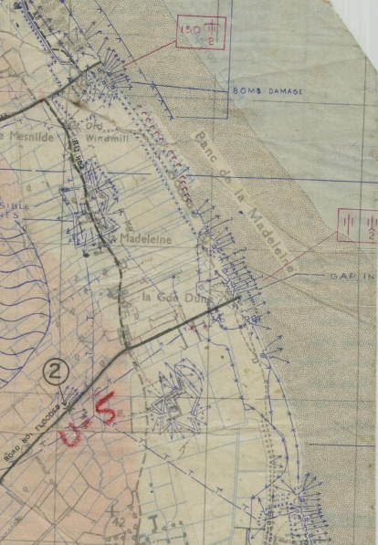 Map of Utah Beach