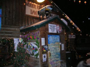 The Woody Creek Tavern was a favorite hangout of Hunter Thompson. It's quirky and fun, and the food is excellent too.