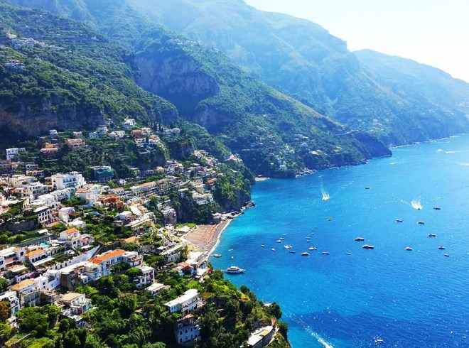 Every turn on the Italy's Amalfi Coast offers another spectacular view of the sea and quaint towns clinging to steep cliffs. Craigslegz.com