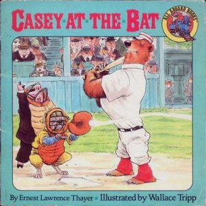 "This illustrated version of ""Casey at the Bat"" for kids got Allison hooked on baseball."
