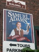 The tour was free and so was the beer at the Samuel Adams Brewery in Boston. Craigslegz.com