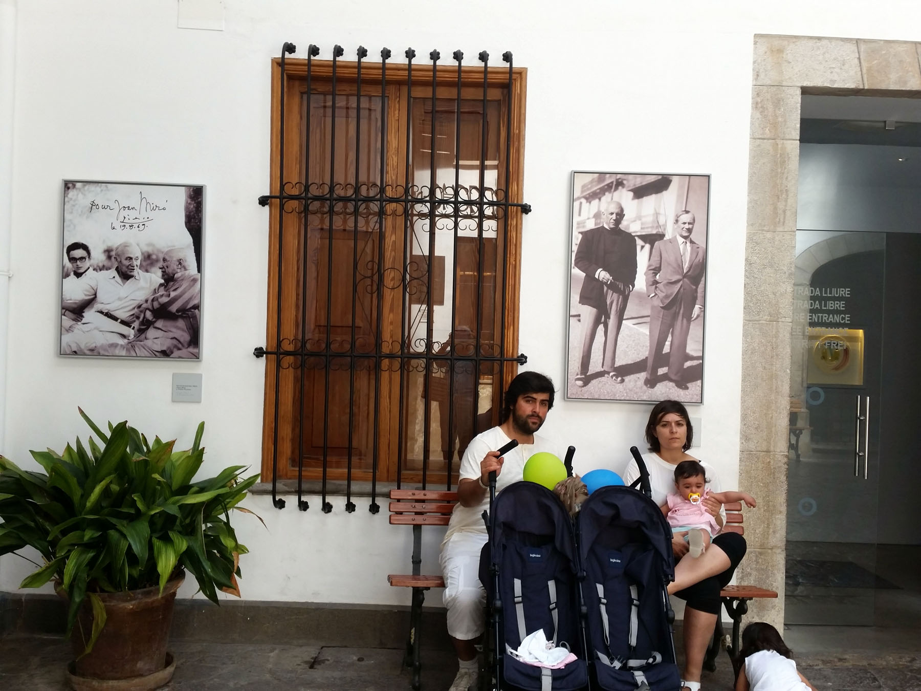 Passengers waiting for the train in Soller can browse a free museum featuring Pablo Picasso and Joan Miro, who visited the town together in the 1960s. Craigslegz.com