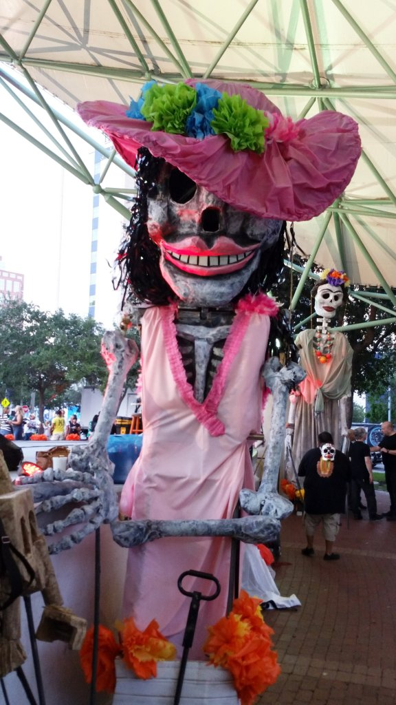 Larger-than-life puppets are the stars of the Dead of the Dead processon in Fort Lauderdale. Craig Davis/Craigslegz.com
