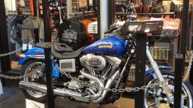 Milwaukee is the epicenter of Harley-Davidson, including a store at the airport. (Craig Davis/Craigslegztravels.com)