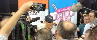 New York Yankees rookie Aaron Judge was a big attraction in his first All-Star Game and winner of the Home Run Derby in 2017. (Craig Davis/Craigslegz.com