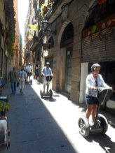 There are numerous side streets to explore in the heart of old Barcelona. (Craig Davis/Craigslegz.com)
