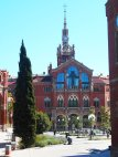The colorful former Hospital de Santa Creu i de Sant Pau is now a pleasant attraction in the El Raval district. (Craig Davis/Craigslegz.com)
