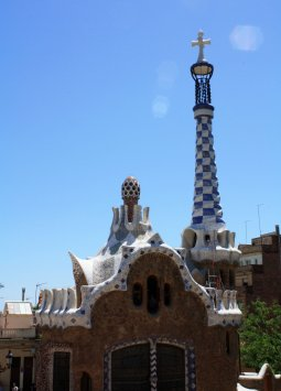 Parc Guell is one of Antoni Gaudi's best-known attractions in Barcelona despite failing as a high-end housing development. (Craig Davis/Craigslegz.com