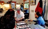Jewelry making is among the classes offered at the Sundance Resort's art studio. (Fran Davis/Craigslegztravels.com)