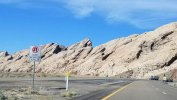 The varying colors of the rock formations stand out on a drive through Utah. (Fran Davis/Craigslegztravels.com)