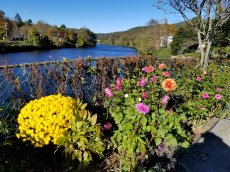 The Bridge of Flowers has been an attraction at Shelburne Falls, Mass., since 1929. (Craig Davis/CraigslegzTravels.com)