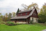 The Robert Frost Stone House Museum is on property once owned by the poet in southern Vermont. (Craig Davis/CraigslegzTravels.com)