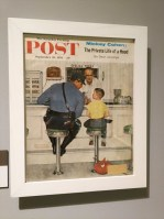 Norman Rockwell is know for sentimental scenes during the twentieth century. (Craig Davis/Craigslegztravels.com)