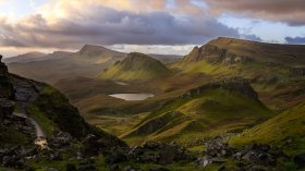 The Quiraing region on the Isle of Skye is one of the prime spots for landscape photography in Scotland. (Glenn Davis/Glenndavisphotography.com