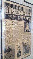 Coach Ralph Quesinberry remains a legendary figure in Chagrin Falls sports lore. The high school gymnasium is named for him. (Craig Davis/Craigslegztravels.com)