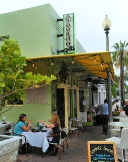 The Avocado Grill features creative farm-to-table cuisine in downtown West Palm Beach. (Craig Davis/Craigslegztravels.com)