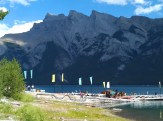Lake Minnewanka offers a variety of recreational opportunities just outside Banff. (Craig Davis/craigslegztravells.com)