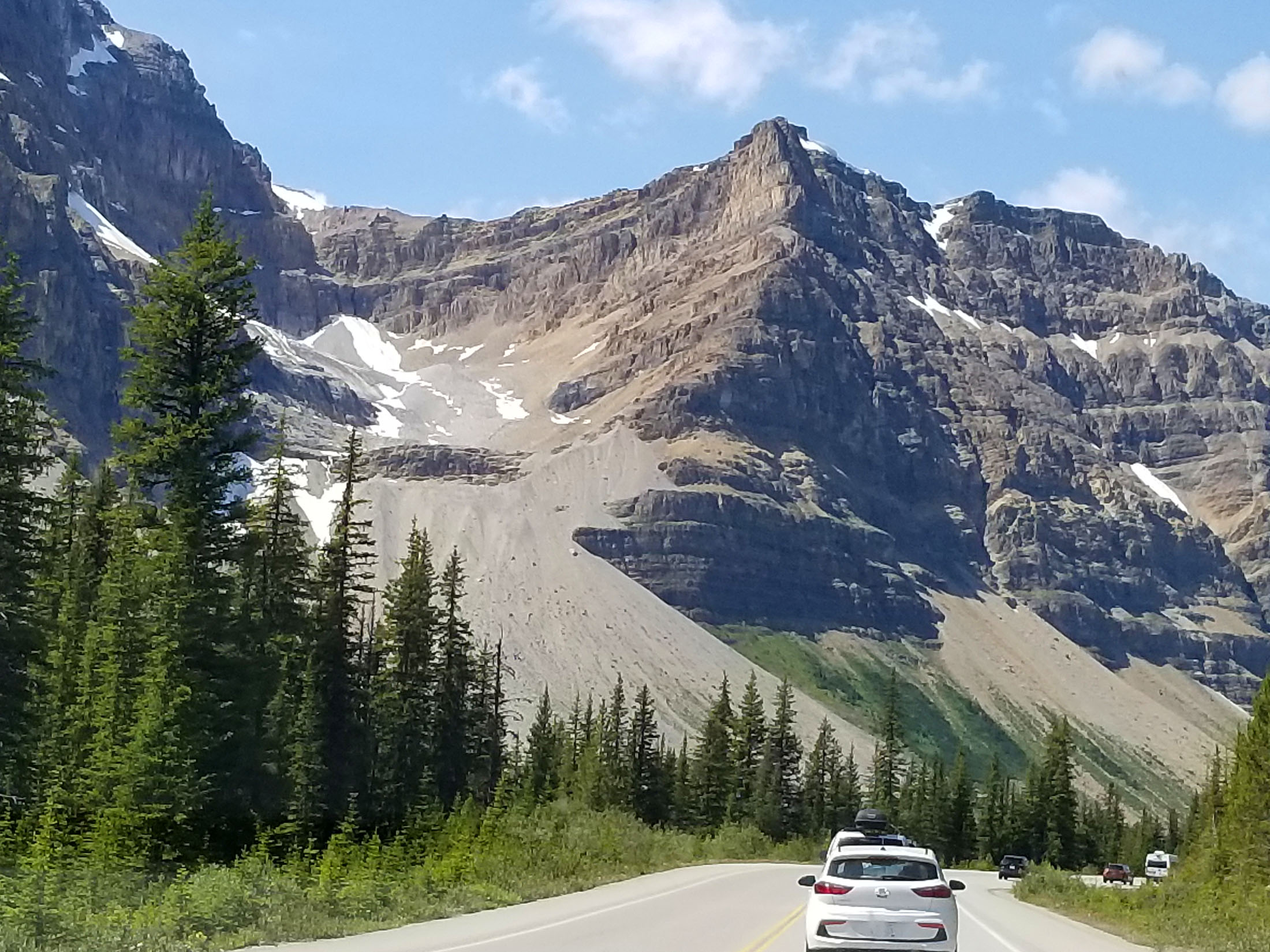 Icefields Parkway is justifiably regarded among the most scenic drives in North America. (Fran Davis/craigslegztravels.com)
