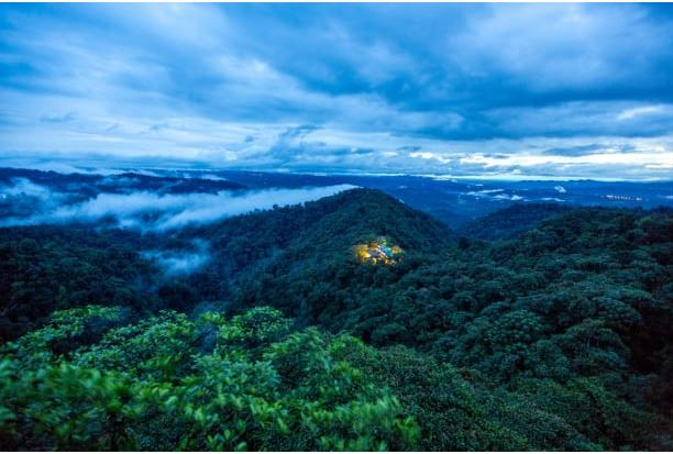 Mashpi Lodge was built on a former logging camp in the eco-sensitive Ecuadorian cloud forest.