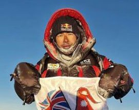 Nirmal Purja was one of the leaders of the team of Nepalese climbers who reached the summit of K2. (Twitter)