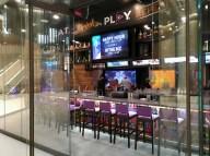 PLA sports bar at the Guitar Hotel features 25 TV to catch all the games. (Craig Davis/craigslegztravels.com)
