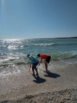 The Sanibel Stoop is the standard stance of shell seekers on the Sanibel beaches. (Craig Davis/Craigslegztravels.com)