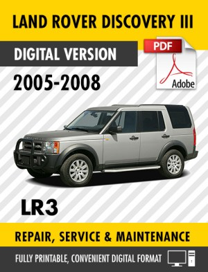 2005  2008 LAND ROVER DISCOVERY III LR3 FACTORY REPAIR SERVICE MANUAL WORKSHOP | eBay