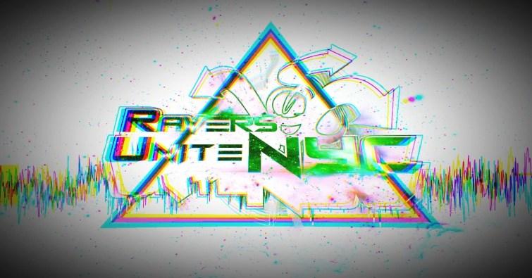 Ravers Unite NYC logo