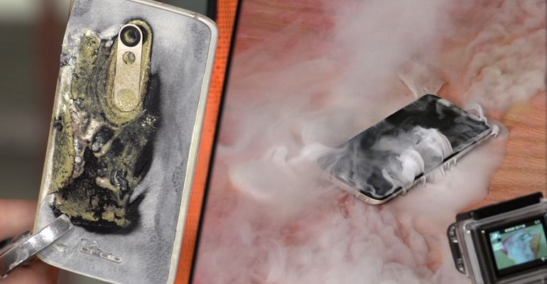 Here's Why Samsung Note 7 Phones Are Catching Fire