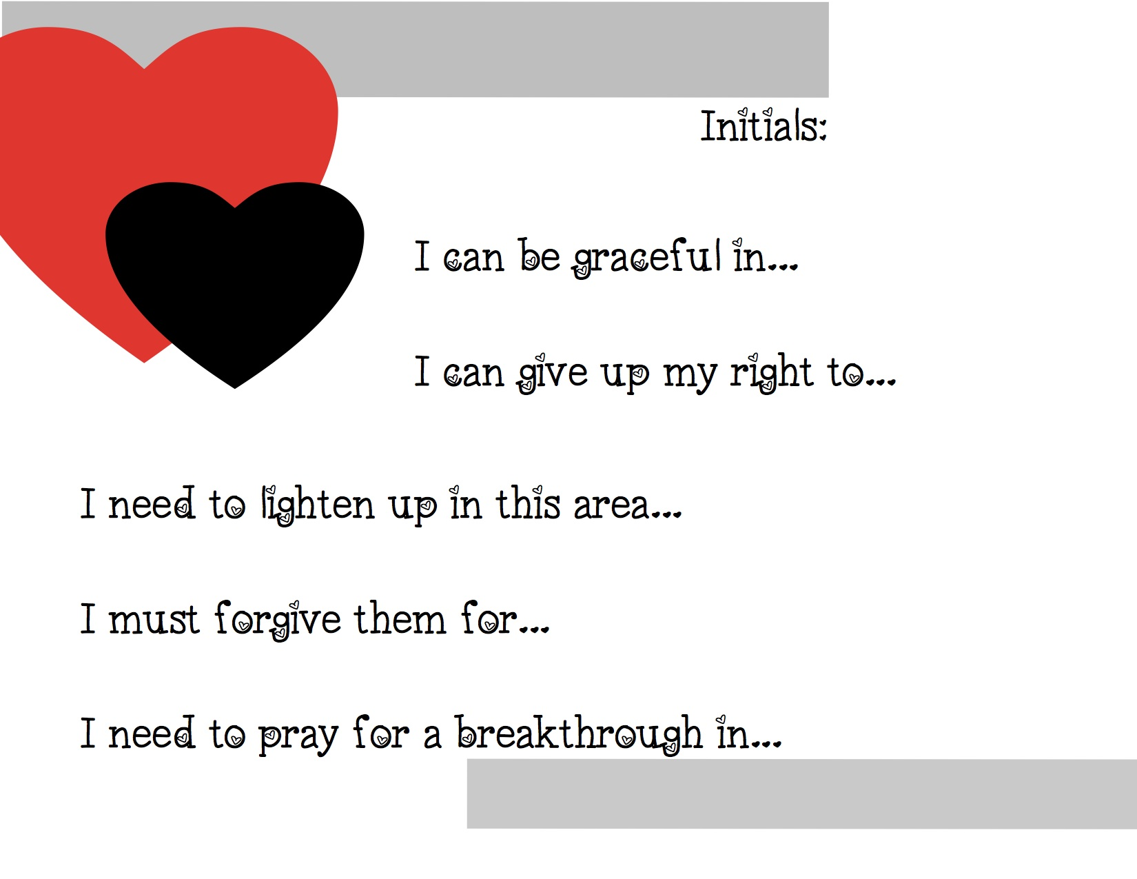 Forgiveness Forgiveness Worksheets