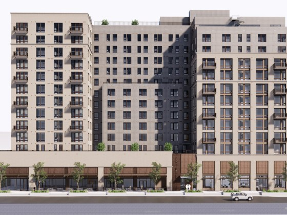 Rendering of Craine Architecture's Mixed Use Project