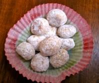 Tiny Pfeffernusse -- Ginger Cookies
