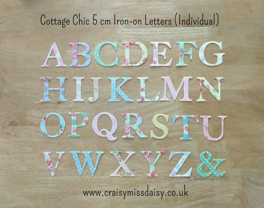craisymissdaisy-cottage-chic-5-cm-iron-on-individual-letters