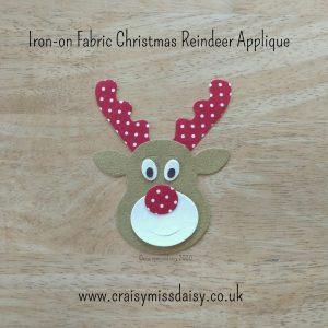 craisymissdaisy iron on fabric christmas reindeer