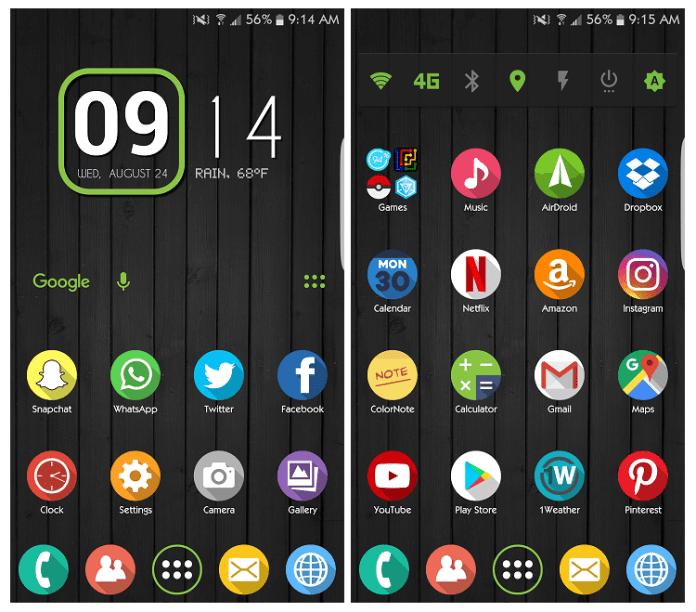 Android Home Screen Custom Widgets