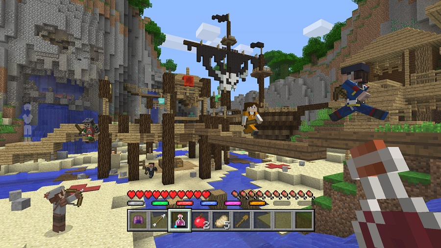 minecraft battle mode cove map