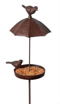Fågelbord på spett Hortensia