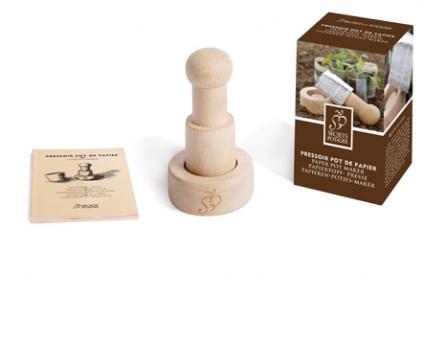 Paper pot maker Secrets de Potager