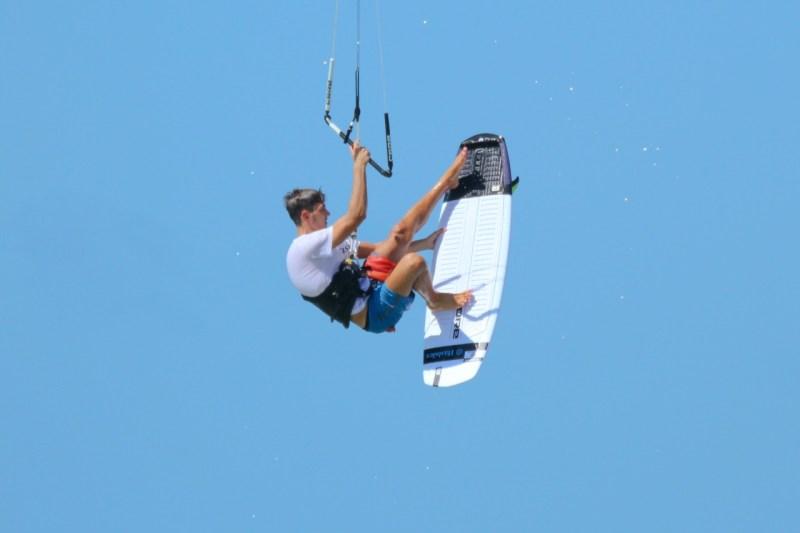 Gabriel Benetton kitesurf