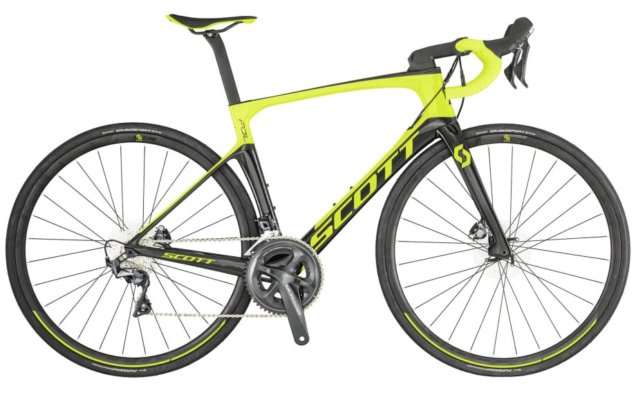 2019 SCOTT Foil 20 disc yellow/black Bike