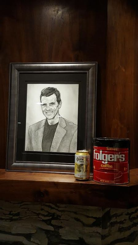Steve was clear - he wished to be received by Folgers can before transfer to someplace rugged and beautiful.