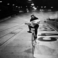 Henri Cartier-Bresson at the 6 Days in Paris, 1957