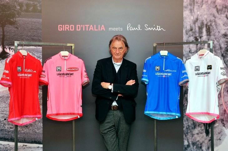 Cycling : Maglia Rosa 2013/ Paul Smith designer