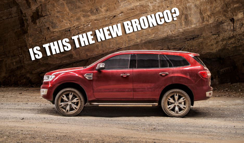 Bronco 4 Door 2017 Ford