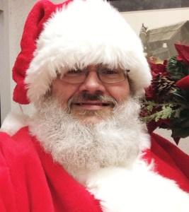 photo of me as Santa