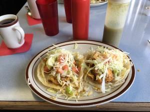 Chorizo and Egg tacos
