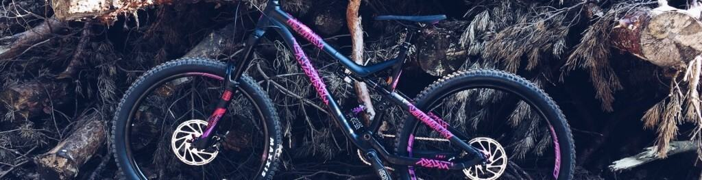 commencal meta v4 purple race review mtb trail enduro mountainbiking biking women girls chix trails